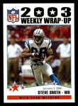 2004 Topps #308   -  Steve Smith Weekly Wrap-Up Front Thumbnail
