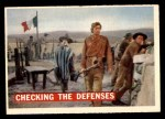 1956 Topps Davy Crockett #64   Checking The Defenses  Front Thumbnail