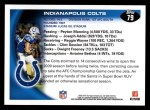 2010 Topps #79   -  Peyton Manning / Dominic Brown Colts Team Back Thumbnail