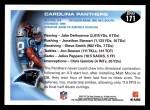 2010 Topps #171   -  Jonathan Stewart / Steve Smith Panthers Team Back Thumbnail