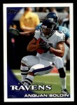 2010 Topps #296  Anquan Boldin  Front Thumbnail