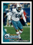 2010 Topps #155  Karlos Dansby  Front Thumbnail