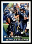 2010 Topps #385   -  Matt Hasselbeck / Julius Jones Seahawks Team Front Thumbnail