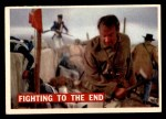 1956 Topps Davy Crockett #73   Fighting To The End  Front Thumbnail
