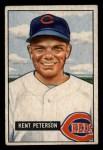 1951 Bowman #215  Kent Peterson  Front Thumbnail