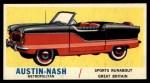 1961 Topps Sports Cars #11   Austin-Nash Metropolitan Front Thumbnail