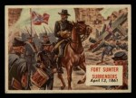 1954 Topps Scoop #99   Fort Sumter Surrenders Front Thumbnail