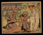 1941 Gum Inc Uncle Sam #107   Medical Corps Front Thumbnail