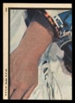 1969 Topps Man on the Moon #35 A  Launch Control Center Back Thumbnail