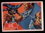 1966 Topps Batman Red Bat #6   Facing the Axe Front Thumbnail