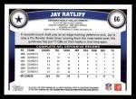 2011 Topps #66  Jay Ratliff  Back Thumbnail