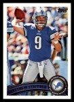 2011 Topps #86  Matthew Stafford  Front Thumbnail