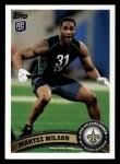 2011 Topps #357  Martez Wilson  Front Thumbnail