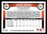 2011 Topps #367  Jabaal Sheard  Back Thumbnail