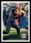 2011 Topps #314  Mike Williams  Front Thumbnail