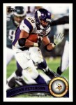 2011 Topps #410  Adrian Peterson  Front Thumbnail
