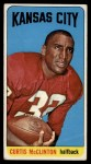 1965 Topps #107  Curtis McClinton  Front Thumbnail