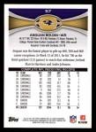 2012 Topps #57  Anquan Boldin  Back Thumbnail