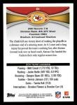 2012 Topps #81   -  Matt Cassel / Branden Albert Kansas City Chiefs Back Thumbnail