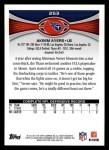 2012 Topps #253  Akeem Ayers  Back Thumbnail