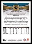 2012 Topps #362  Andre Branch  Back Thumbnail