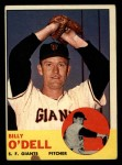 1963 Topps #235  Billy O'Dell  Front Thumbnail