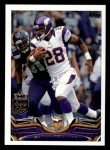 2013 Topps #1  Adrian Peterson  Front Thumbnail