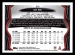 2013 Topps #20  Matt Ryan  Back Thumbnail