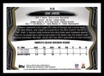 2013 Topps #58  John Jenkins   Back Thumbnail