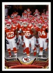 2013 Topps #113   Kansas City Chiefs Team Front Thumbnail