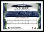 2013 Topps #116  Brandon Browner  Back Thumbnail
