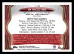 2013 Topps #119   San Francisco 49ers Team Back Thumbnail