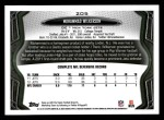 2013 Topps #205  Muhammad Wilkerson  Back Thumbnail