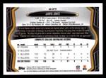 2013 Topps #209  Jarvis Jones   Back Thumbnail