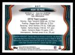 2013 Topps #237   Miami Dolphins Team Back Thumbnail