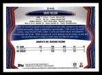 2013 Topps #246  David Wilson  Back Thumbnail
