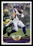 2013 Topps #258  Kyle Rudolph  Front Thumbnail