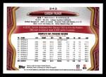 2013 Topps #343  Carson Palmer  Back Thumbnail