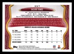 2013 Topps #357  Bacarri Rambo   Back Thumbnail