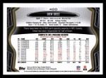 2013 Topps #400  Drew Brees  Back Thumbnail