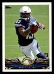 2013 Topps #435  Keenan Allen   Front Thumbnail