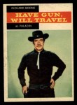 1958 Topps TV Westerns #26  Richard Boone   Front Thumbnail