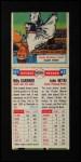 1955 Topps DoubleHeader #61 / 62 -  Billy Gardner / John Hetki  Back Thumbnail