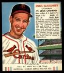 1952 Red Man #20 NL Enos Slaughter  Front Thumbnail