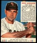 1952 Red Man #18 AL Eddie Robinson  Front Thumbnail