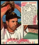 1952 Red Man #5 NL Murry Dickson  Front Thumbnail
