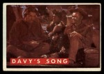1956 Topps Davy Crockett Green Back #63   Davy's Song  Front Thumbnail