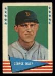 1961 Fleer #78  George Sisler  Front Thumbnail