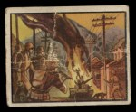 1950 Topps Freedoms War #24   Home-Made Bomb   Front Thumbnail