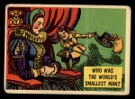 1957 Topps Isolation Booth #2   World's Smallest Man Front Thumbnail